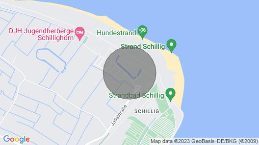 NEU: Apartment in erster Strandreihe mit Infrarotkabine und Balkon Map