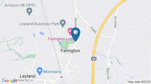 Classic Lodges - Farington Lodge Map