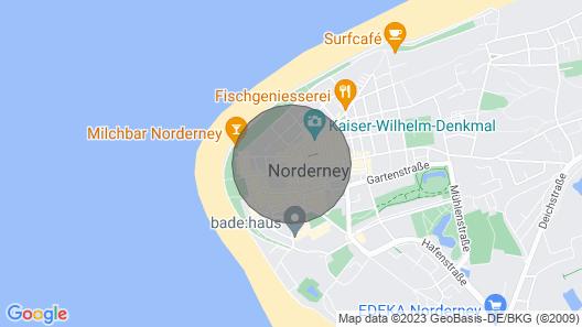 Ferienwohnung Pureney - Stadtmitte - Whg. 2 Map