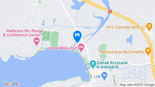 Hotel Willa Port art. & Business Map