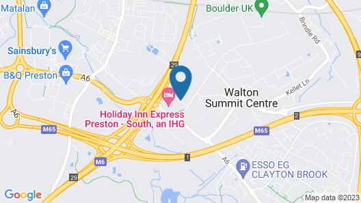 Holiday Inn Express Preston - South Map