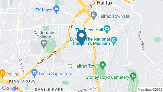 Halifax House Apartments Map
