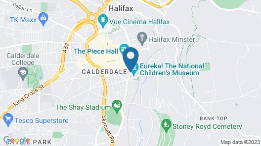 Central Suite - Simple2let Serviced Apartments Map