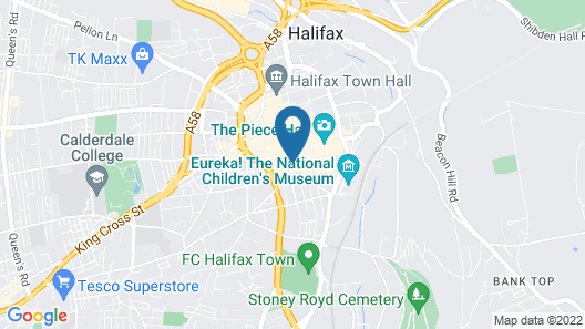 The Shakespeare Hotel Map