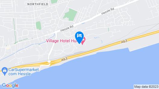 Village Hotel Hull Map