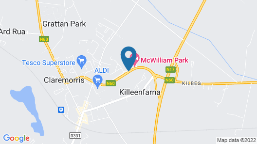 The McWilliam Park Hotel Mayo Map