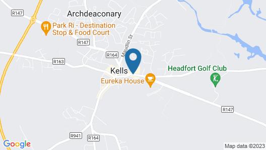 Headfort Arms Hotel Map