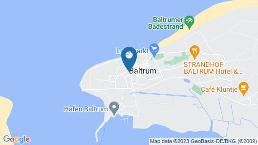 Haus Meeresgruss Map