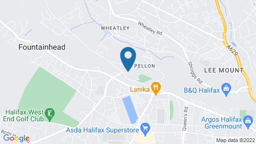 Bracken Hill Lodge Map