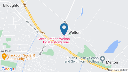 Green Dragon, Welton by Marston's Inns Map