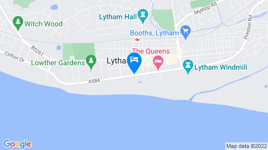 Clifton Arms Hotel Map