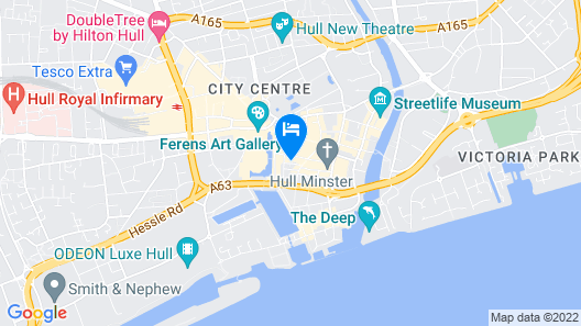SPIRIT OF PRINCE STREET HULL OLD TOWN Map