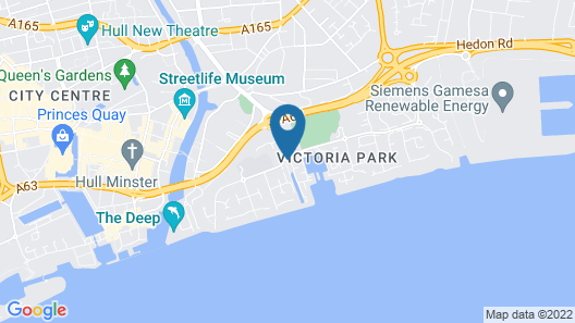 The Winding House Serviced Apartments HSA Map