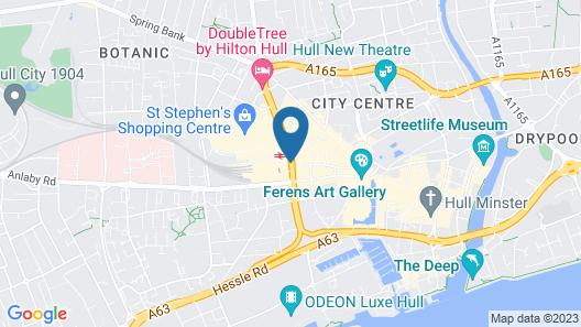 The Royal Hotel Hull Map