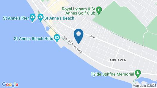 Cumbria Hotel Map