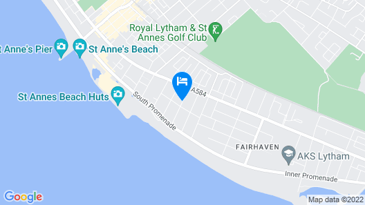 Stay Lytham Serviced Apartments Map