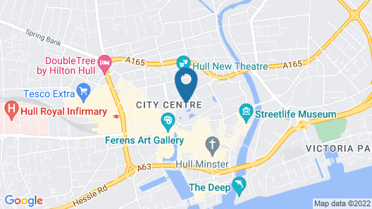 Central Perks Apartment Map