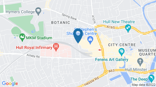 park hotel and apartments Map