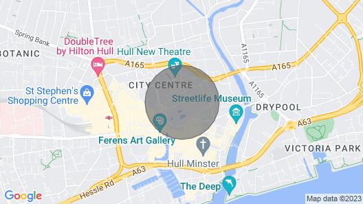 Luxury Sawmill City Centre Hull Map