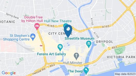 HU1 City Centre Hub Map