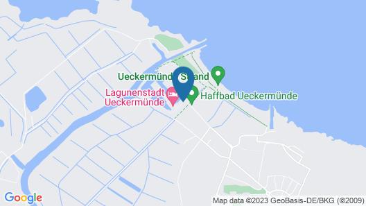 Lagunenstadt Ueckermünde Map