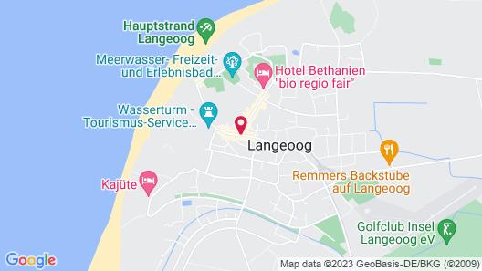 Inselhotel Langeoog Map