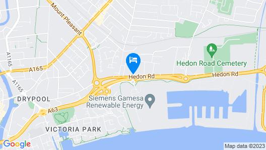 Hotel Trinity Map