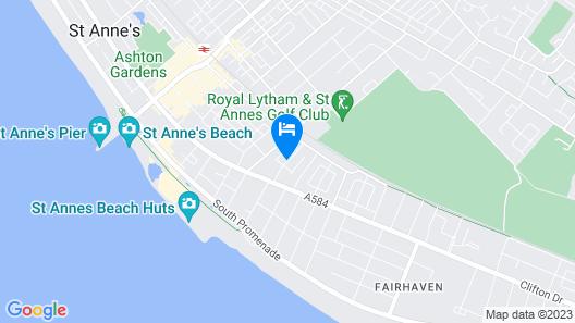 Paramount Aparthotel Map