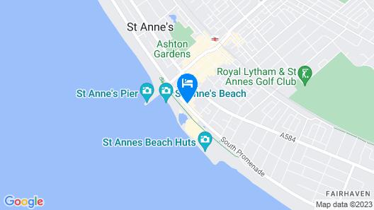Dalmeny Resort Hotel Map