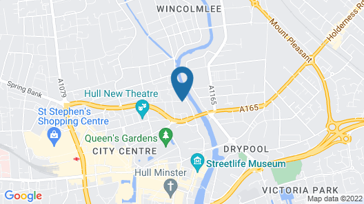 Charter House School Serviced Apartments Hull Serviced Apartments HSA Map