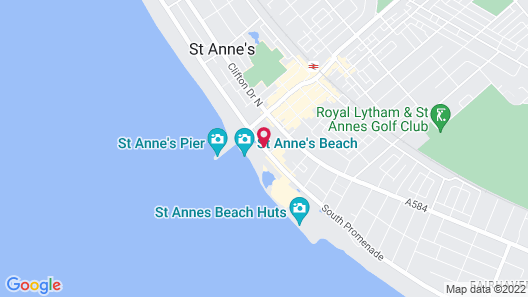 St. Ives Hotel Map