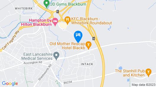 Hampton by Hilton Blackburn Map