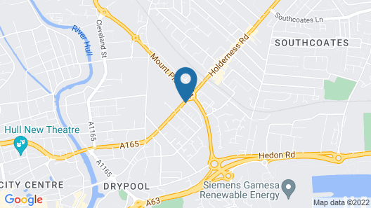 James Reckitt Library Serviced Apartments Hull Serviced Apartments HSA Map