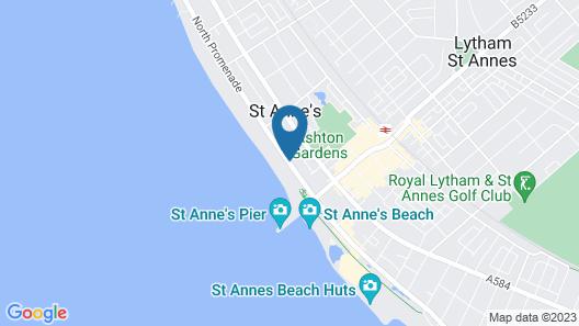 Monterey Beach Hotel Map