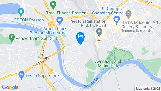 City Haven Preston - Barracks Properties Map