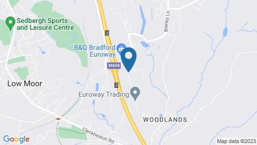 Campanile Bradford Map