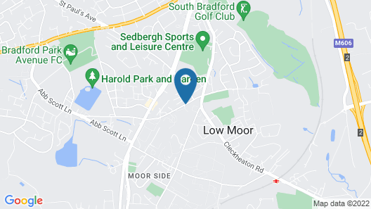Best Western Bradford Guide Post Hotel Map
