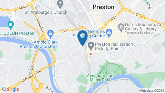 Fishergate Apartments Map