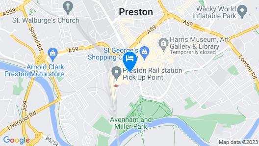 No.10 Preston Map