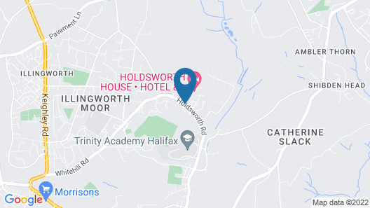 Holdsworth House Map