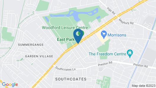 East Park Lodge Map