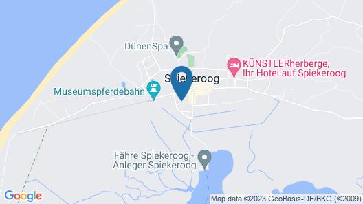 Meerlust Spiekeroog Map