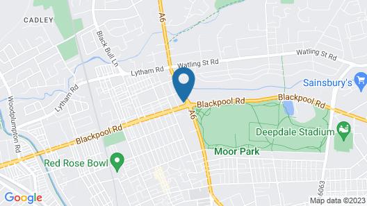 Whitburn House Hotel Map