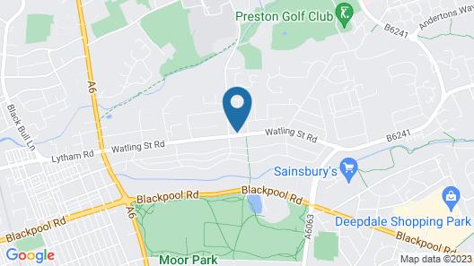 Fulwood Heights - Barracks Properties Map