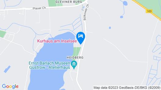Kurhaus am Inselsee Map
