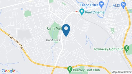 Rosehill House Hotel Map