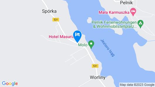 Masuria Hotel & Spa Map