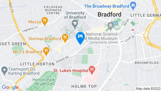 Aphrodite Suites Map