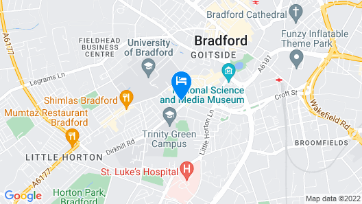 Meridian Serviced Apartments Map