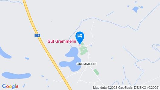 Gut Gremmelin Map